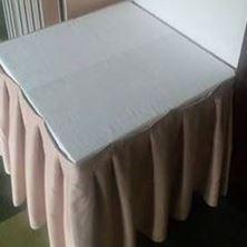 """Obrázek Stůl """"kostka"""" 80cm x 80cm 1/2022"""