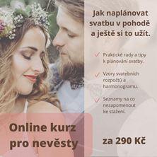 Obrázek ONLINE Kurz pro nevěsty - základní